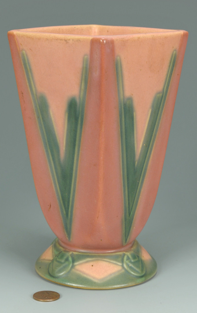 Lot 284: Roseville Pottery Futura Vase