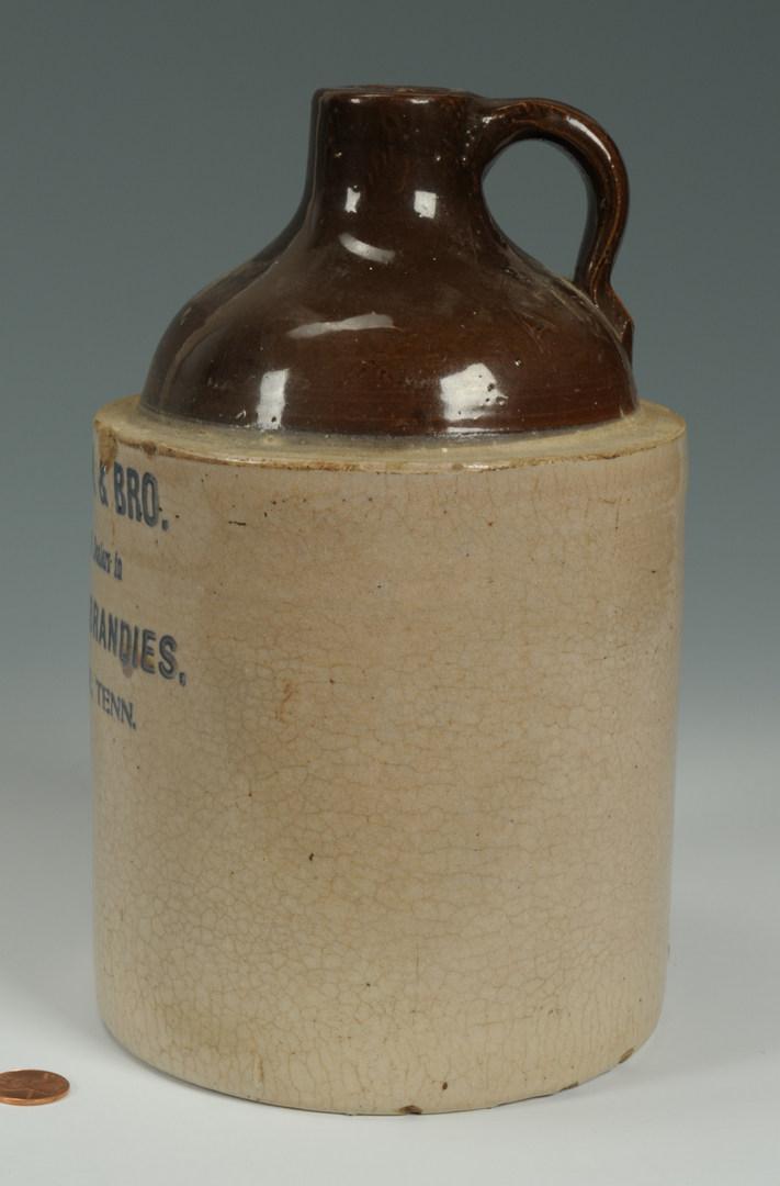 Lot 289: Greeneville, TN Pottery Whiskey Jug