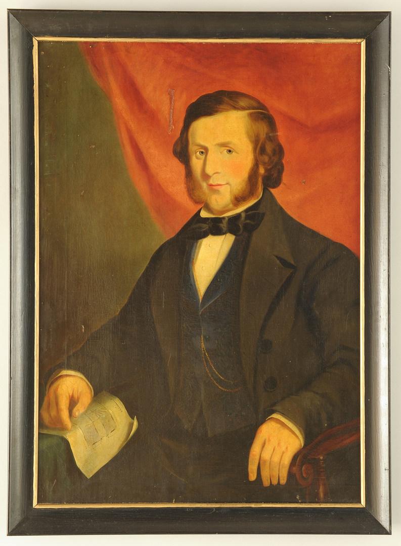 Lot 28: Southern Portrait of a Gentleman, poss. TN
