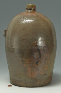 Lot 299: Knoxville, TN Stamped Weaver Pottery Jug