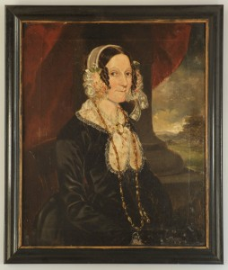 Lot 29: American Portrait of a Lady, poss. Southern