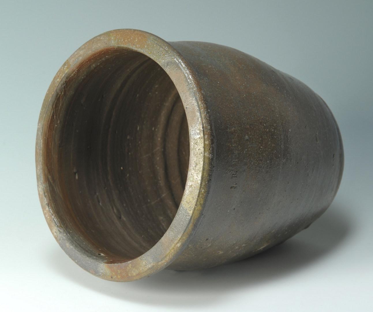 Lot 300: J. B. Magee Stamped Stoneware Jar