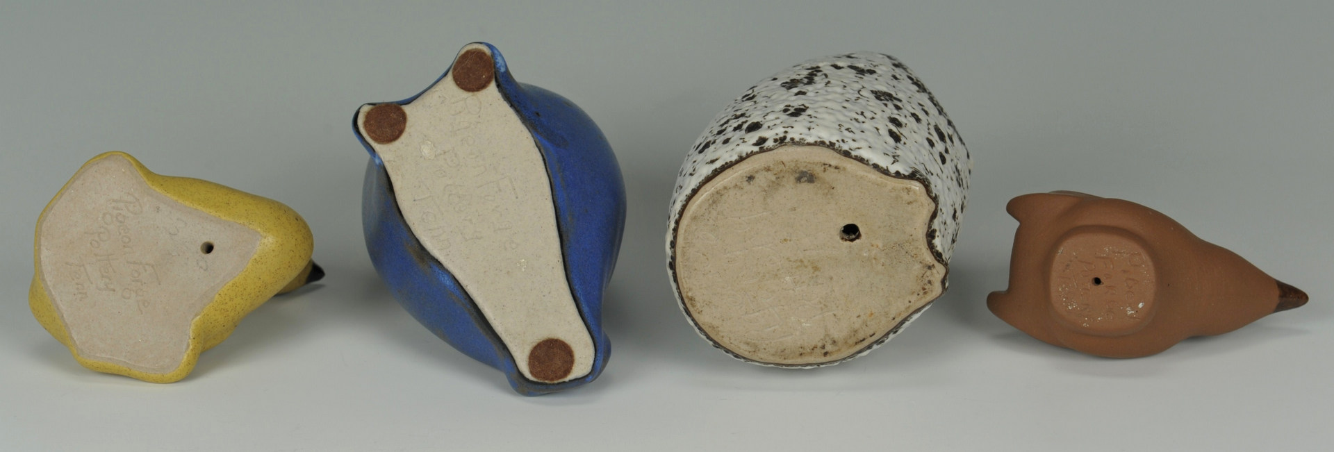 Lot 307: Grouping of Pigeon Forge, TN Pottery, 9 items