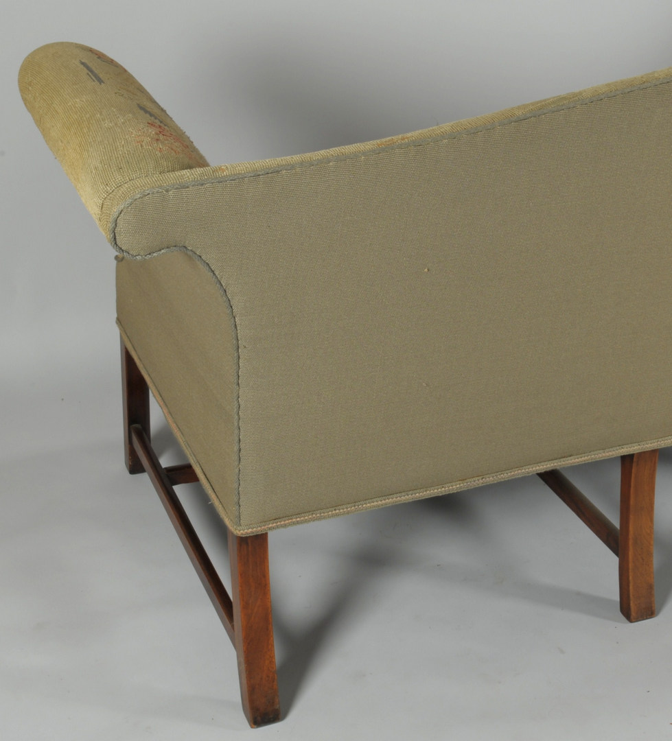Lot 314: Chippendale Style Sofa w/ Tapestry Upholstery