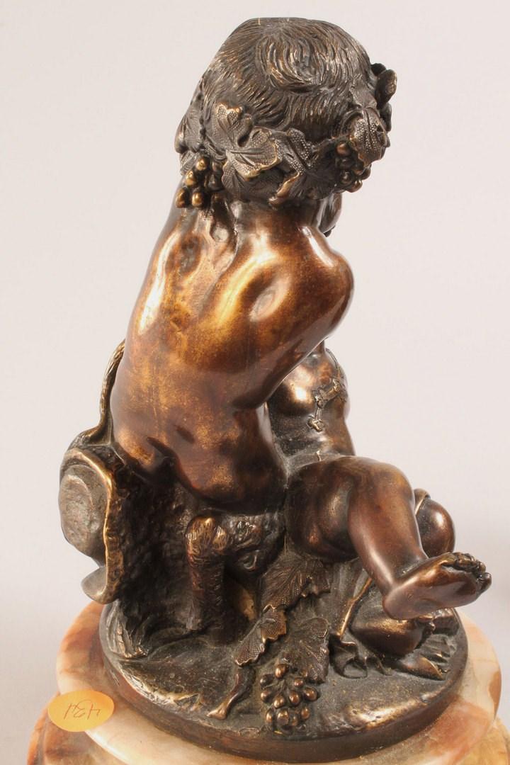Lot 328: Pair of Bronze sculptures, after Clodion