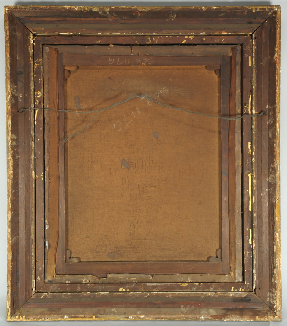 Lot 332: George A. Williams Oil on Canvas