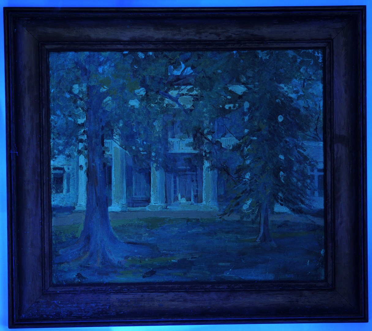 Lot 33 Mayna Treanor Avent Oil On Board The Hermitage