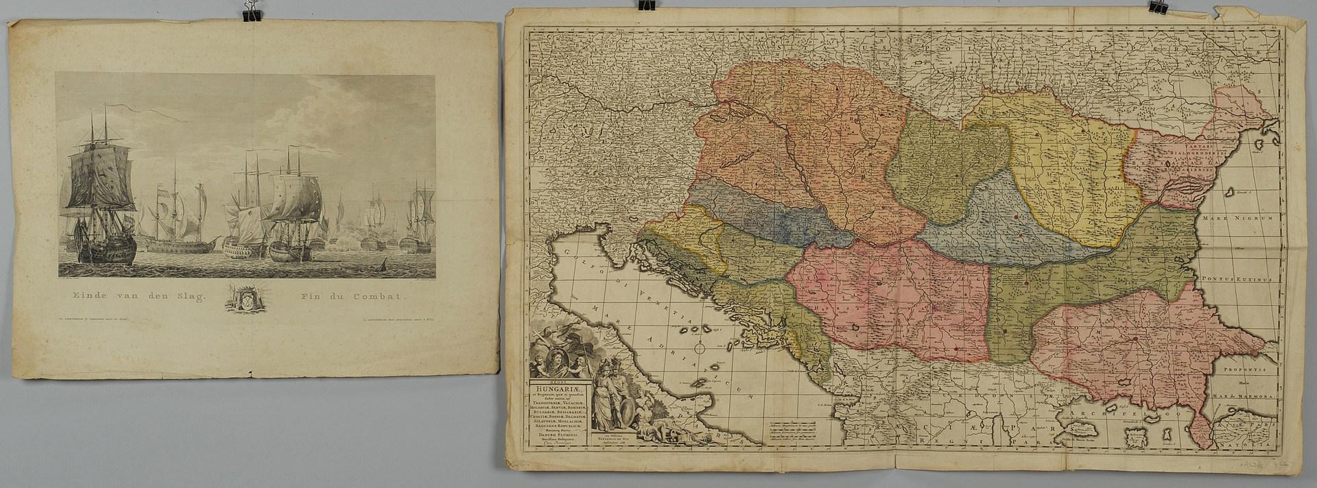 Lot 352: European Map & Engraving