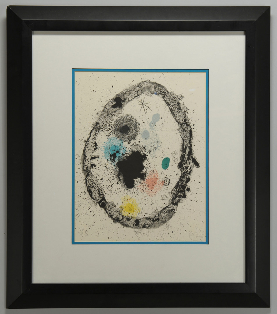 Lot 354: Joan Miro Lithograph (1 of 2)