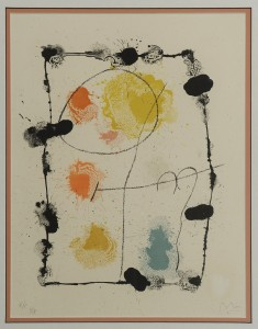 Lot 355: Joan Miro Lithograph (2 of 2)