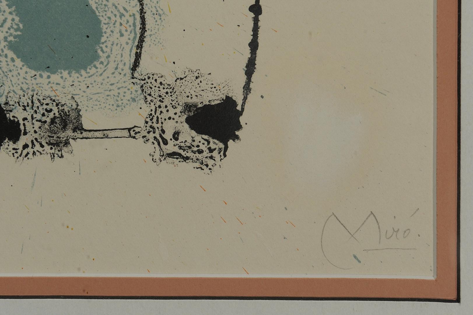 Lot 355: Joan Miro Lithograph (2 of 2)