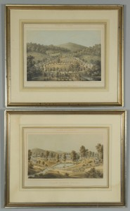 Lot 362: 2 Edward Beyer Album of Virginia Lithographs