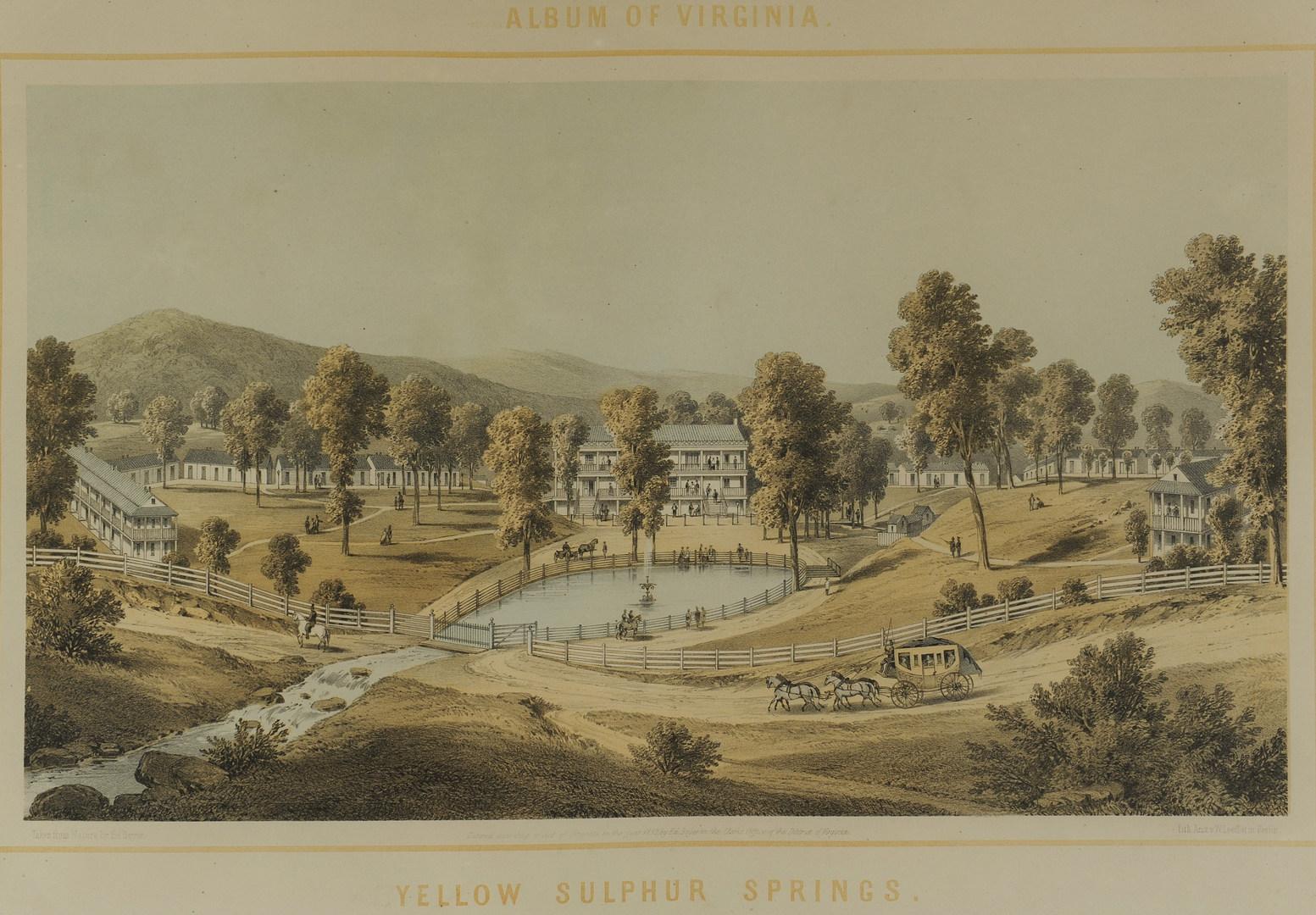 Lot 362: 2 Edward Beyer Album of Virginia Lithographs