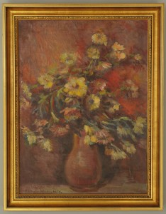 Lot 365: Eleanor Wiley, oil on canvas still life