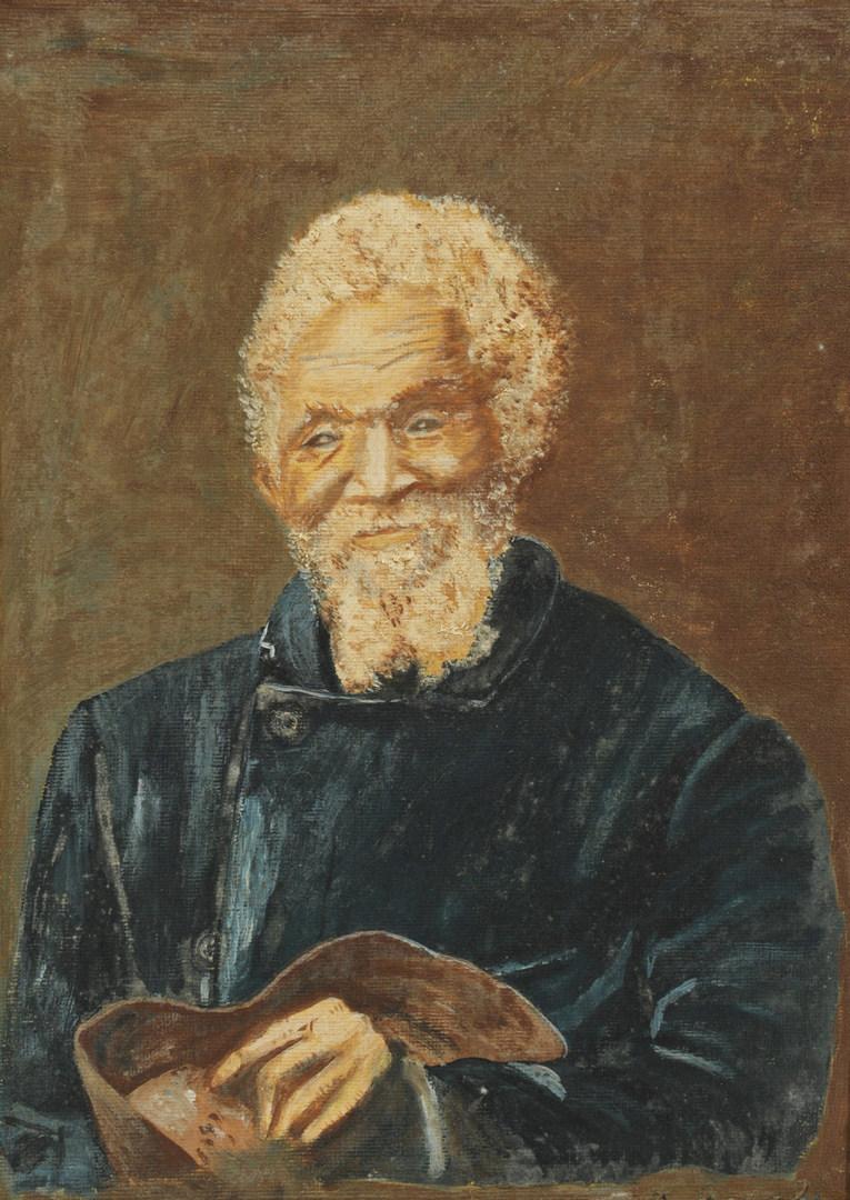 Lot 371: Portrait of an African American Gentleman