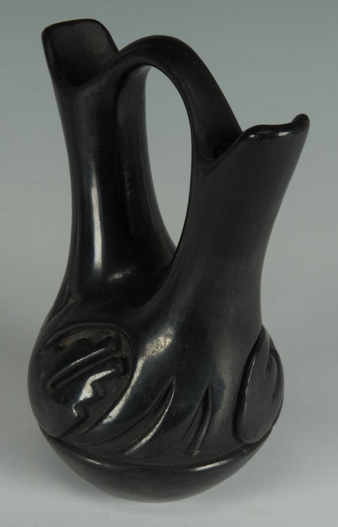 Lot 398: Teresita Naranjo Wedding Vase and Sisner Jar