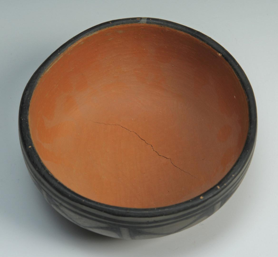 Lot 401: 3 pcs. Santa Domingo Pottery, Melchor family