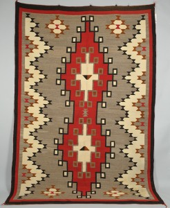 Lot 403: Large Navajo Ganado Rug