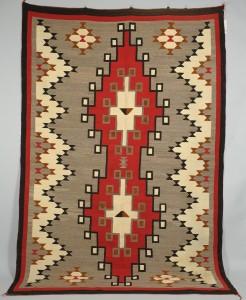 Lot 403: Large Navajo Ganado Rug