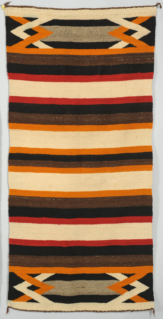 Lot 404: 2 Navajo Chinle Rugs