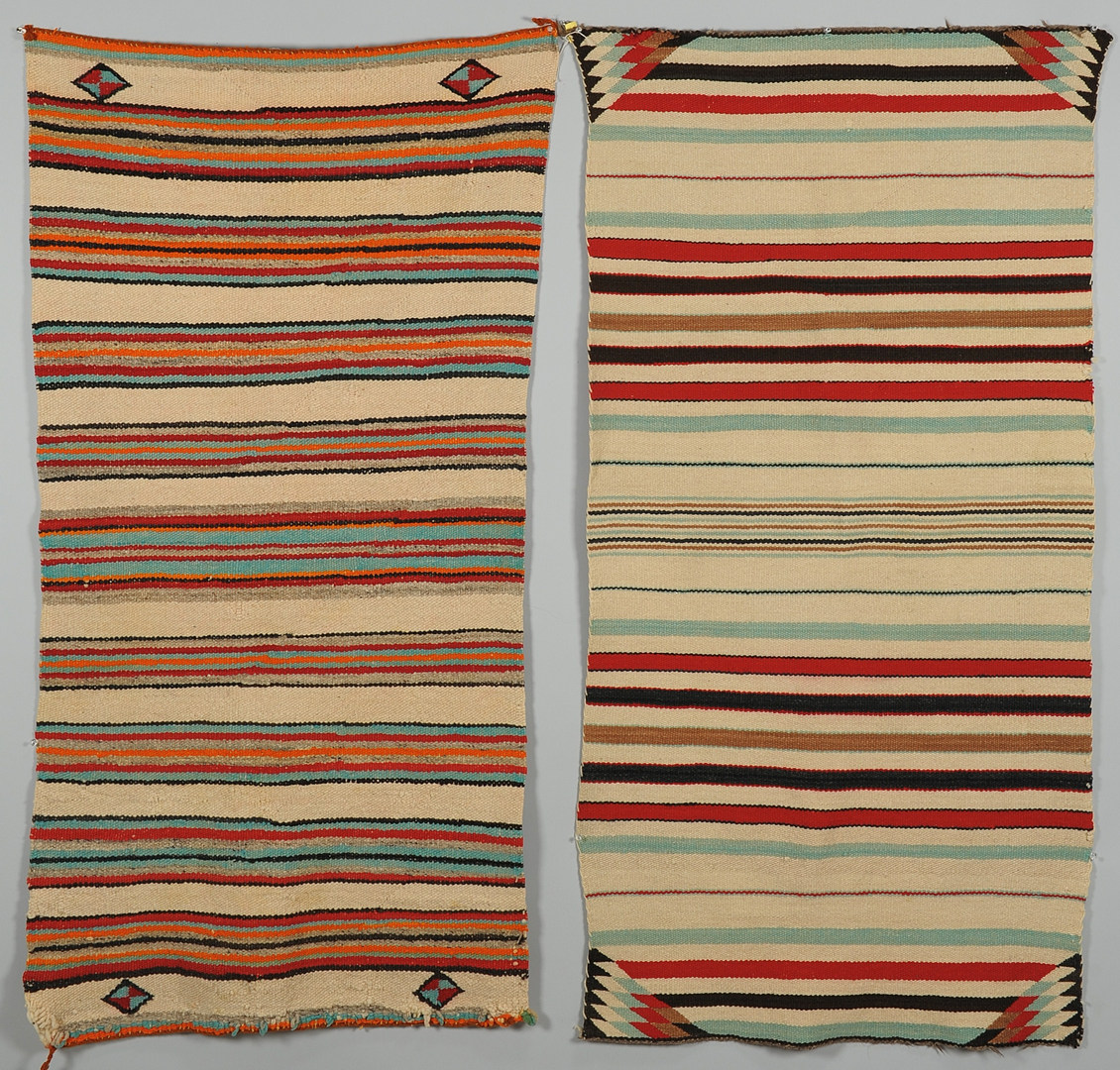 Lot 405: 2 Navajo Chinle Rugs