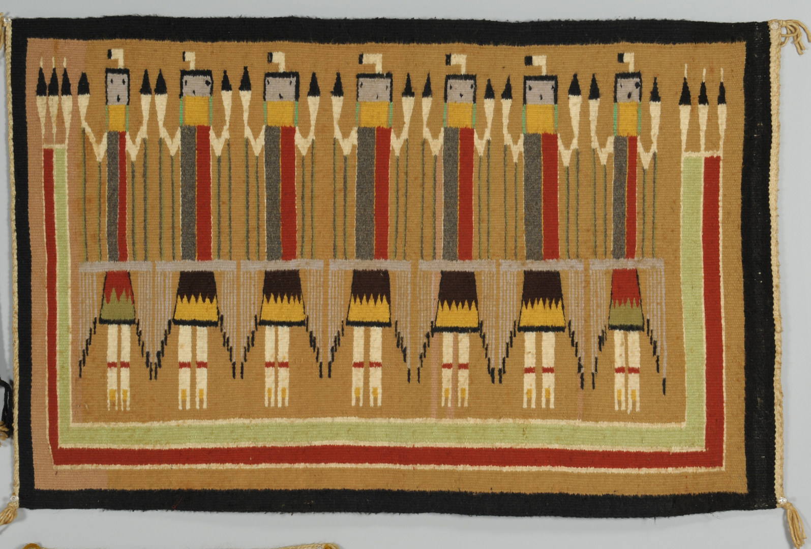 Lot 406 3 Navajo Rugs And 1 Weaving Ye Ii Chinle