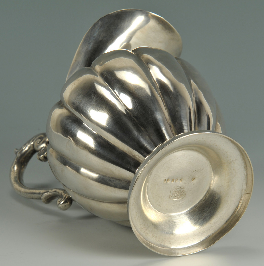 Lot 432: Mexican Sterling Pitcher
