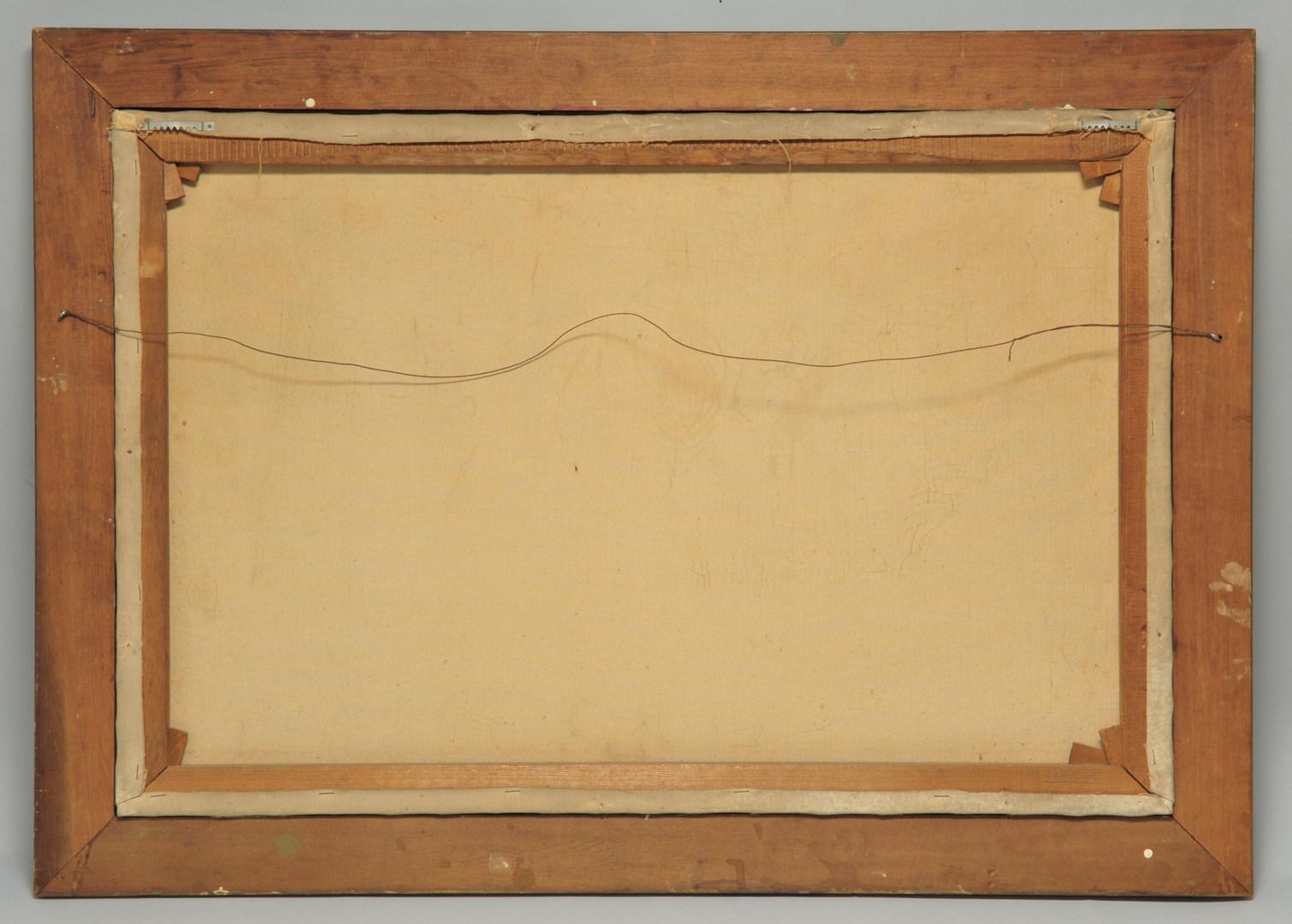 Lot 454: British Oil on Canvas Landscape, Norman B. Wilson