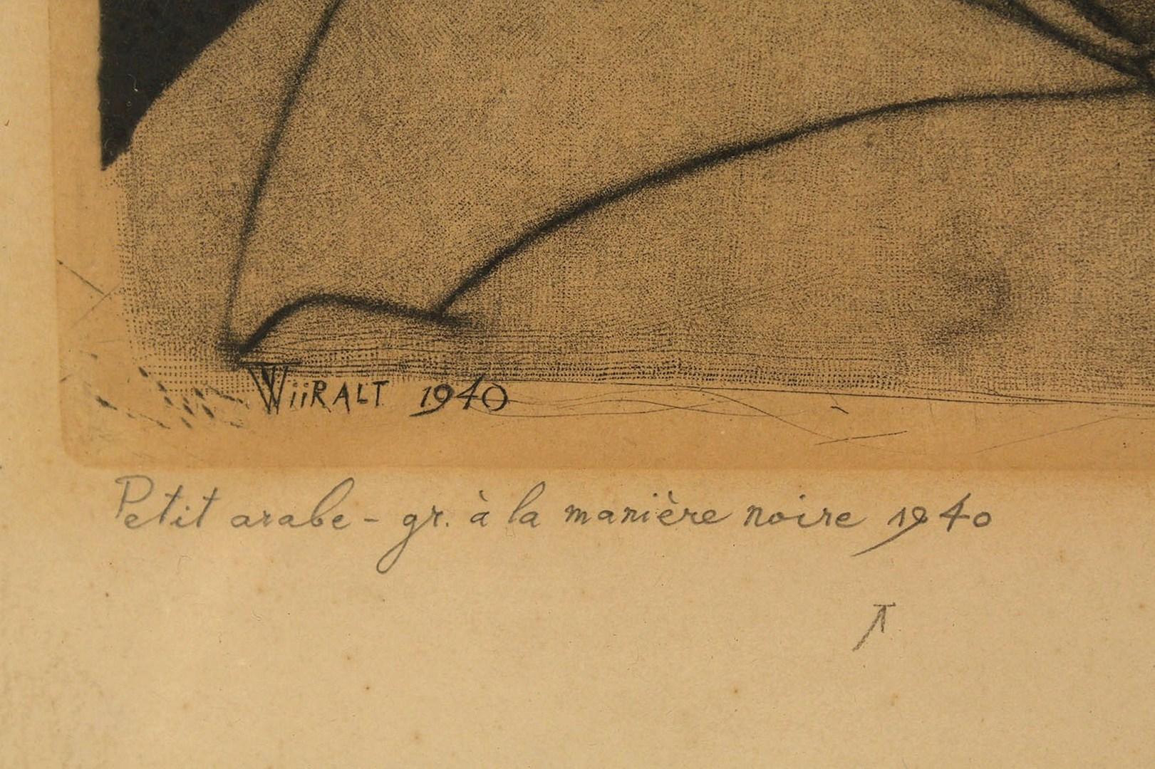 Lot 461: Eduard Wiiralt Etching