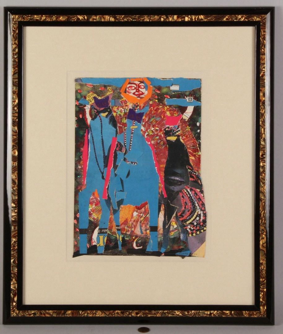Lot 463: Lot of 2 Josette Urso art works