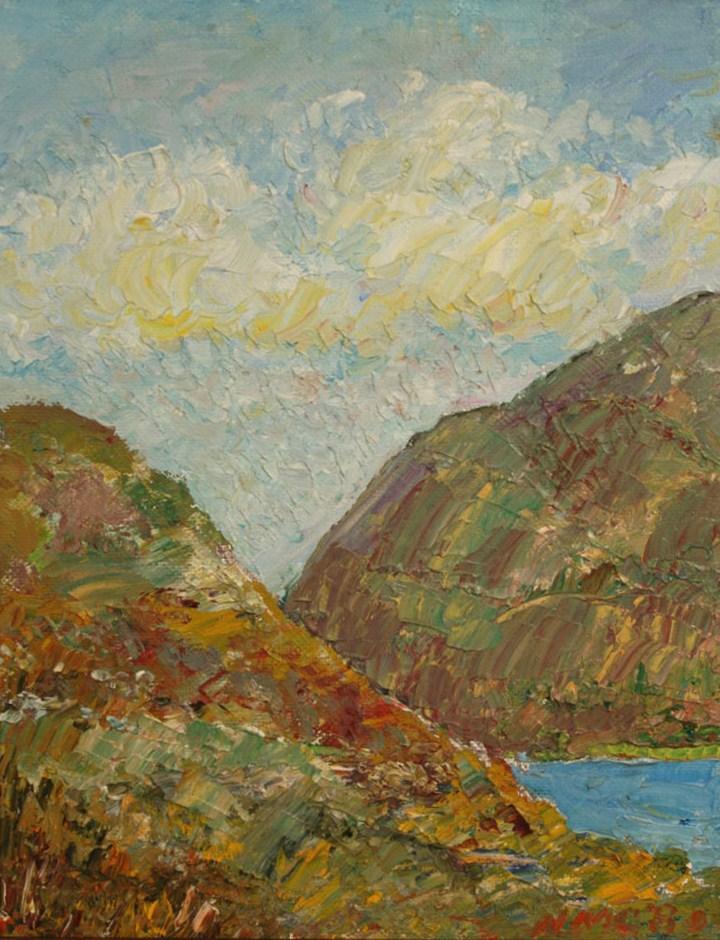 Lot 464: 3 N.M. Crump Southern Oil Paintings inc. Louisiana