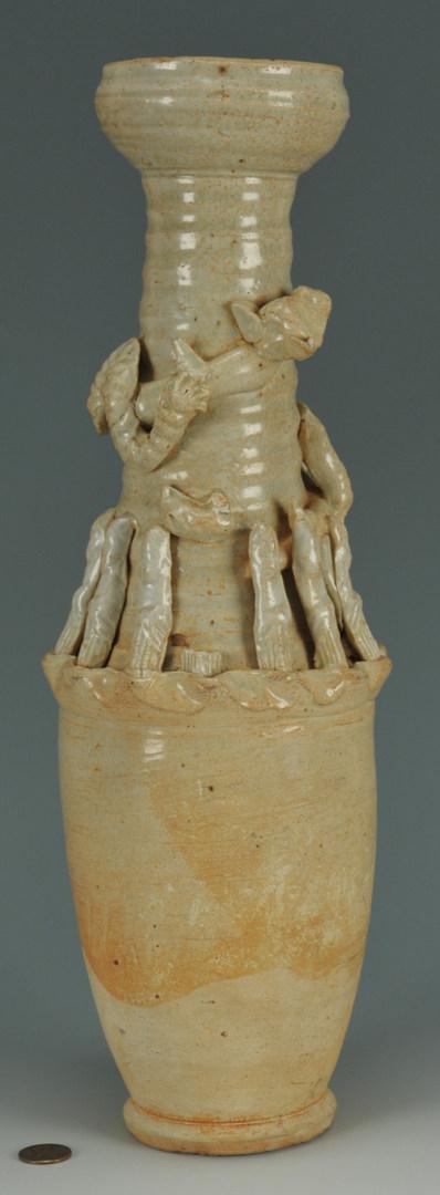 Lot 485: Song Dynasty Qingbai Funerary Urn