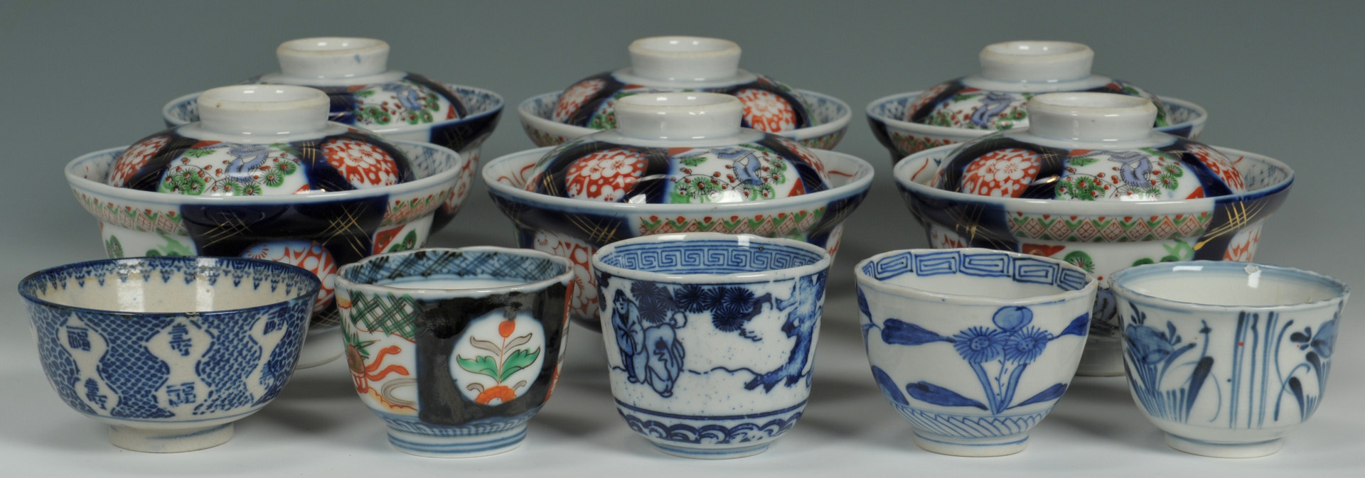 Lot 489: Grouping of Asian Porcelain, 11 items