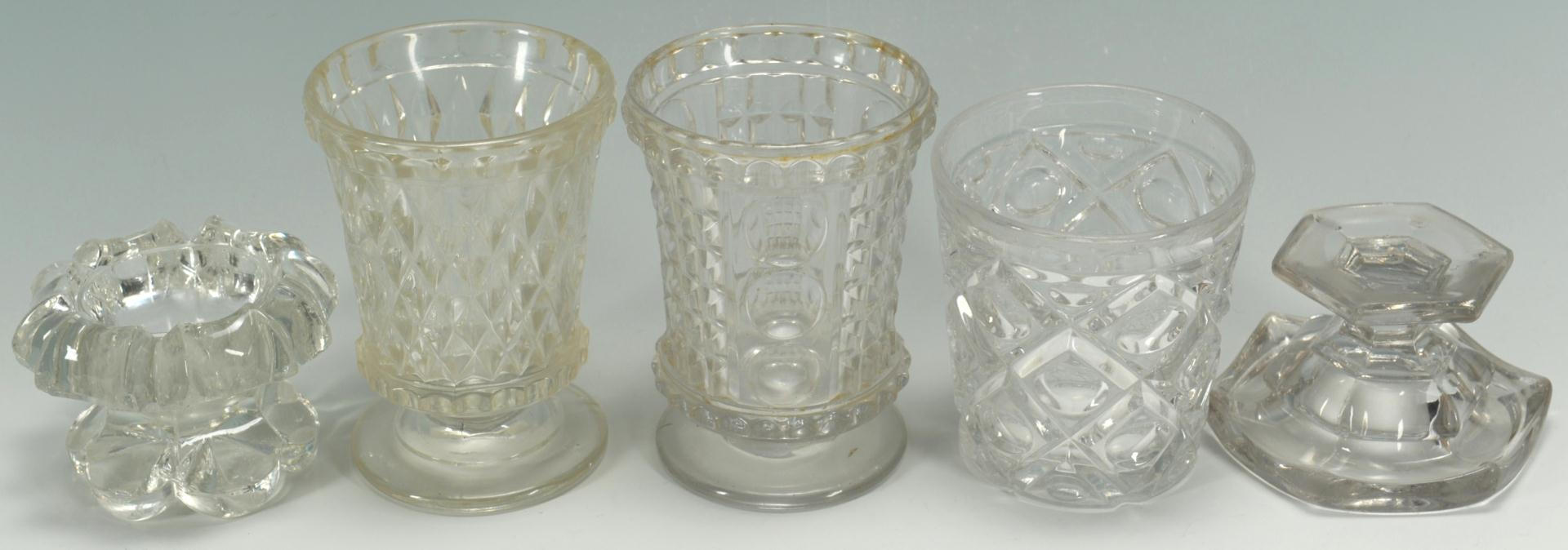 Lot 491: Grouping of Decorative Glass and Flow Blue