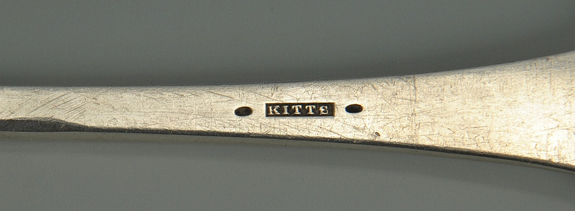 Lot 49: Kentucky Coin Silver Ladle, Kitts