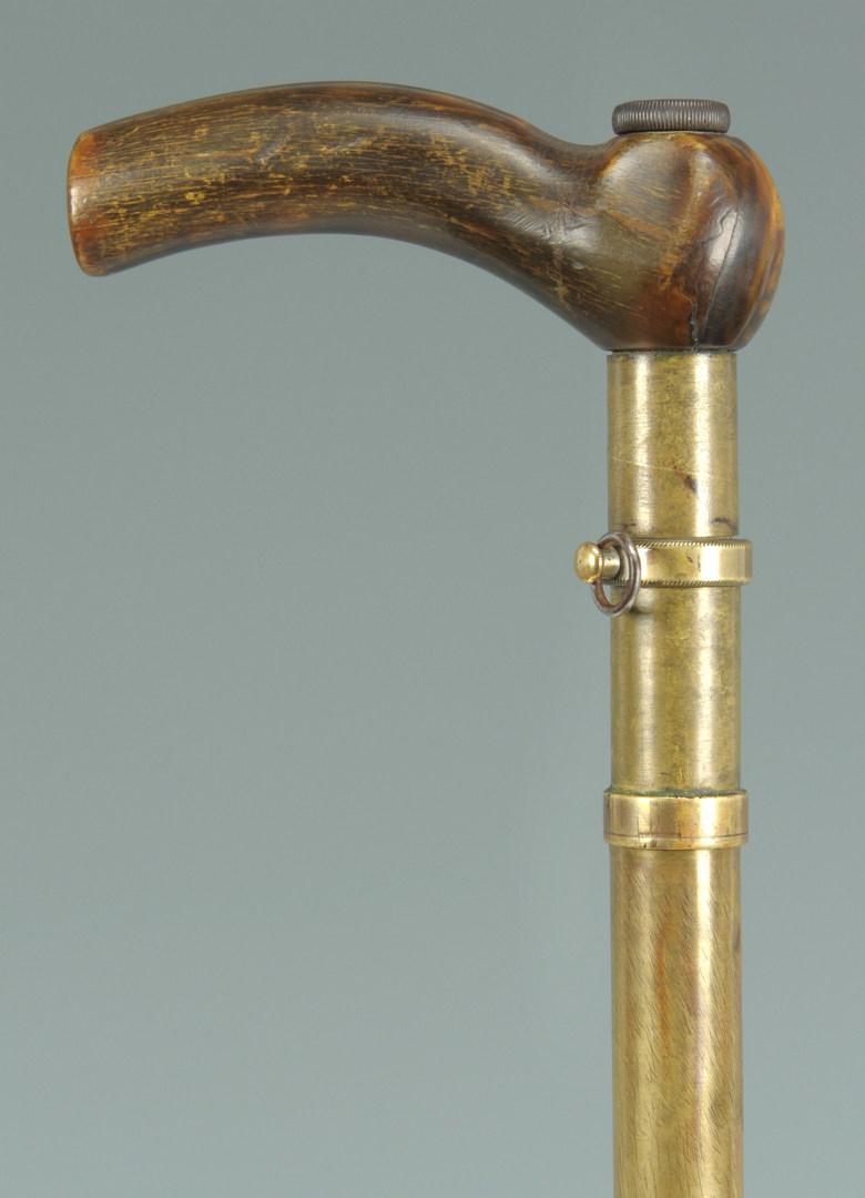 Lot 516: Gentleman's Dress Gun Cane