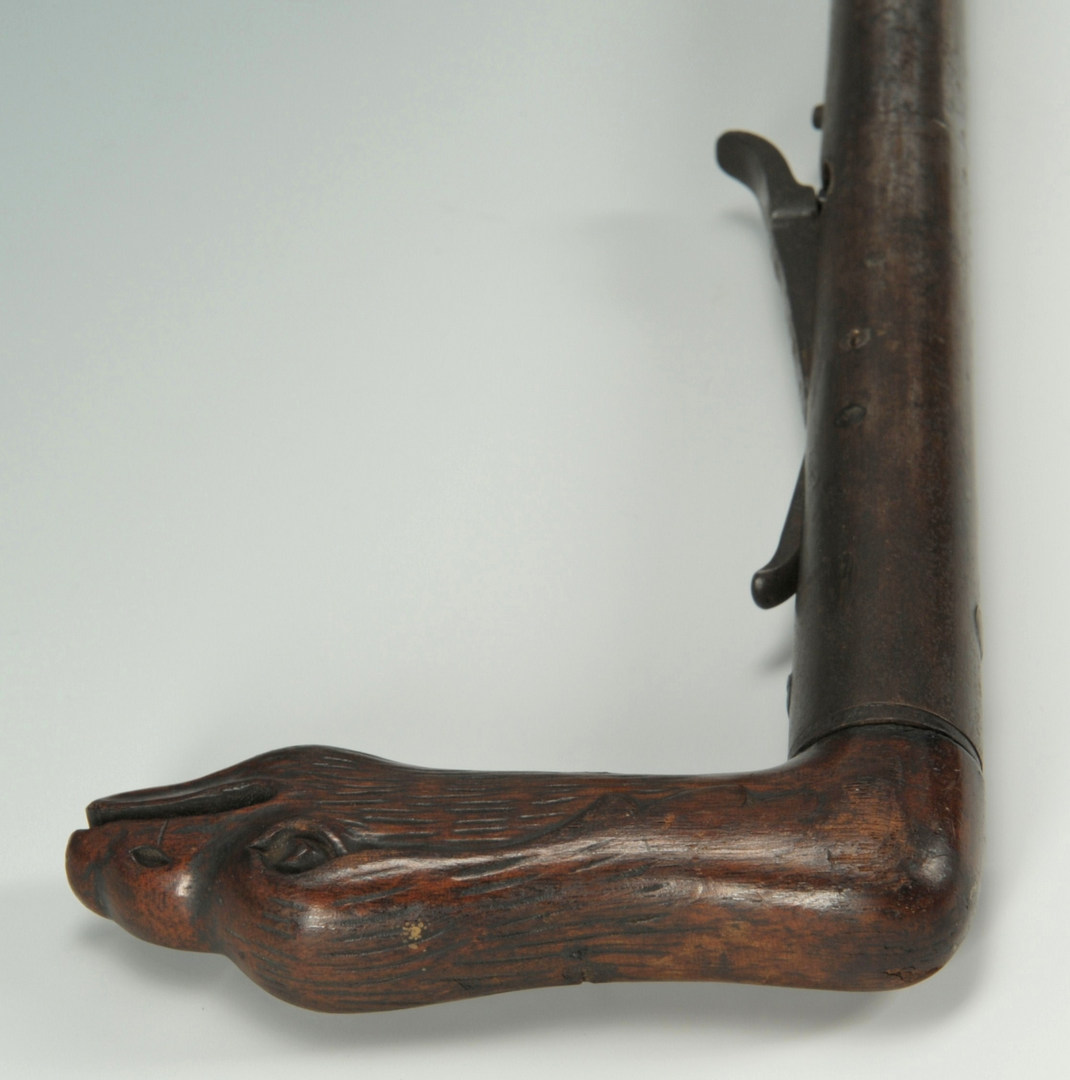 Lot 517: Day's Patent .56 Caliber Gun Cane