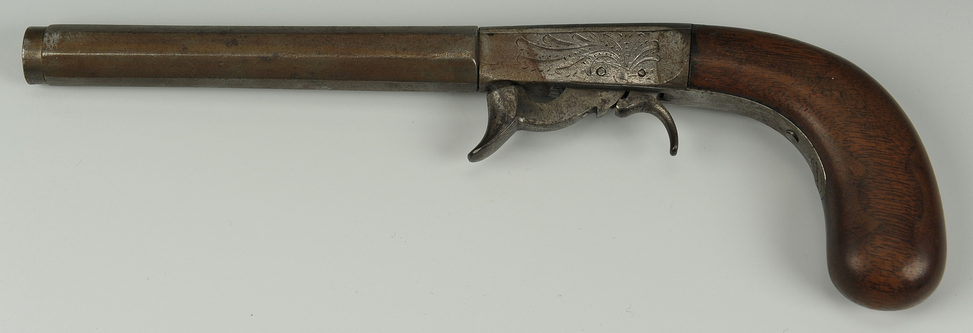 Lot 519: Tennessee Underhammer Percussion Pistol