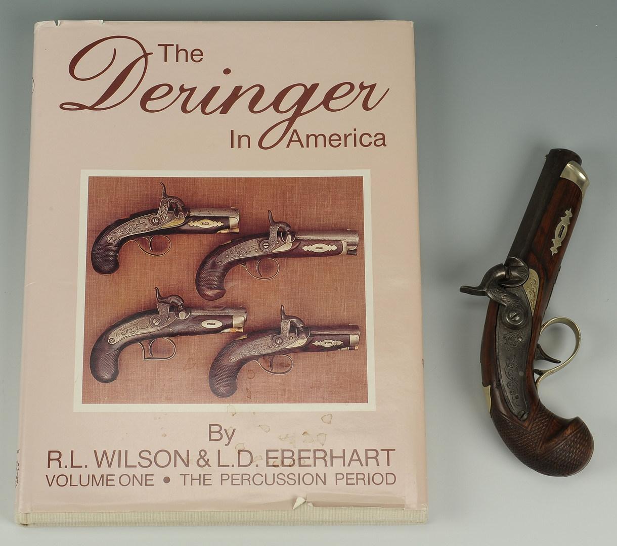 Lot 520: Deringer attrib. JE Merriman of Memphis plus book