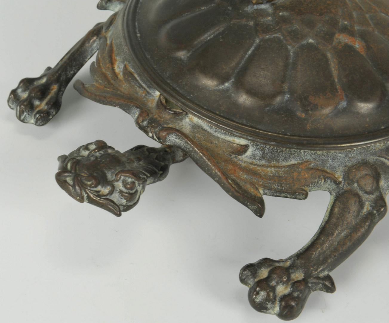 Lot 522: Bradley and Hubbard Dragon Spittoon