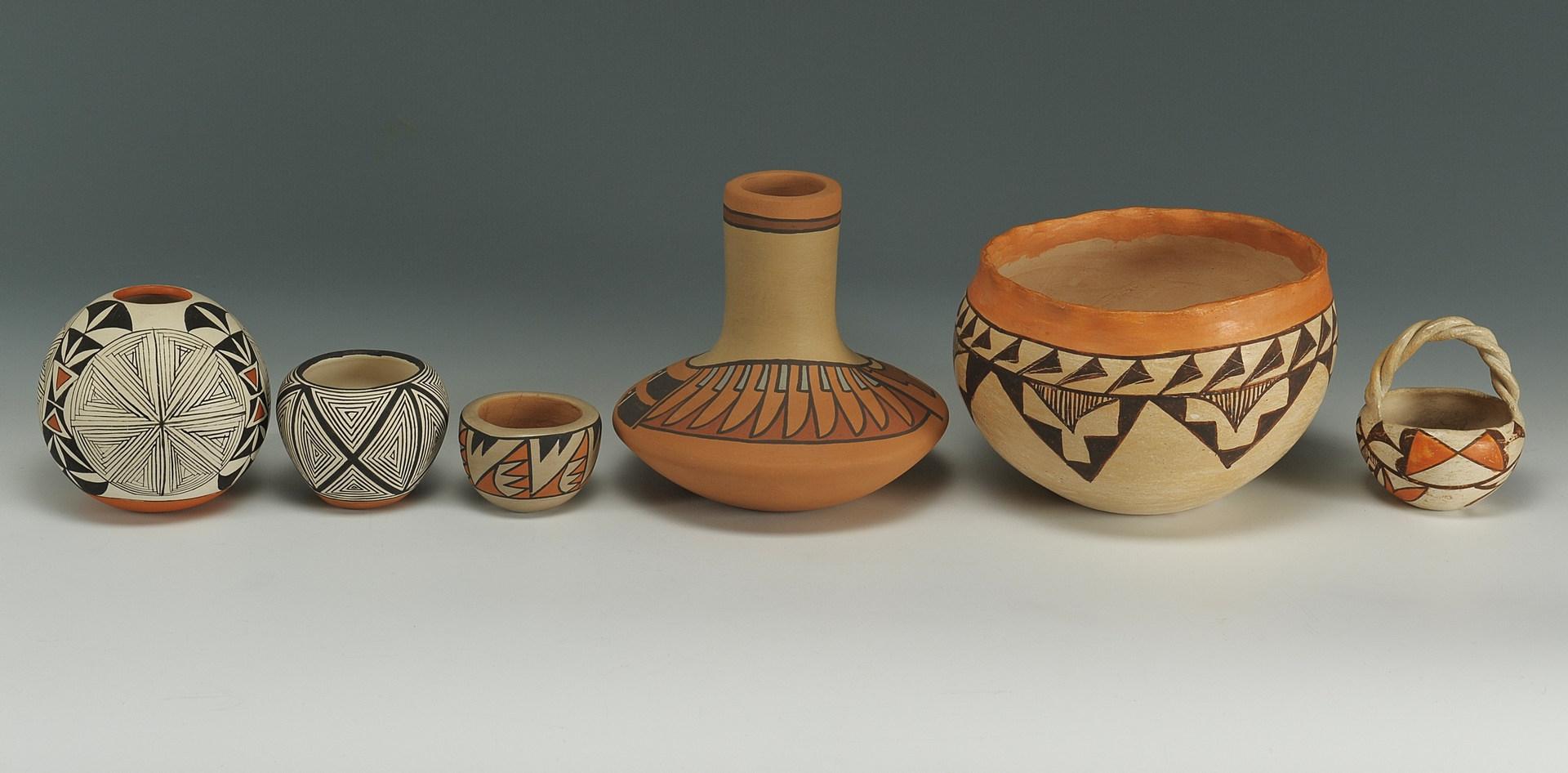 Lot 533: Assorted Pueblo Pottery
