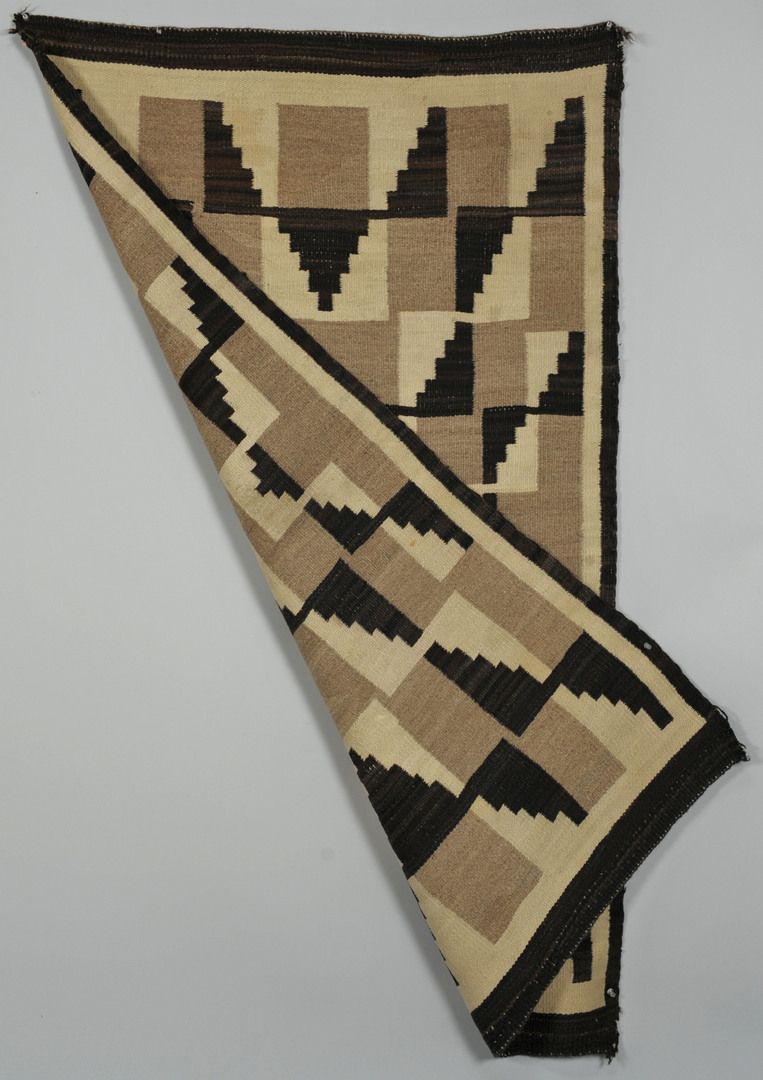 Lot 535: Two Navajo Weavings