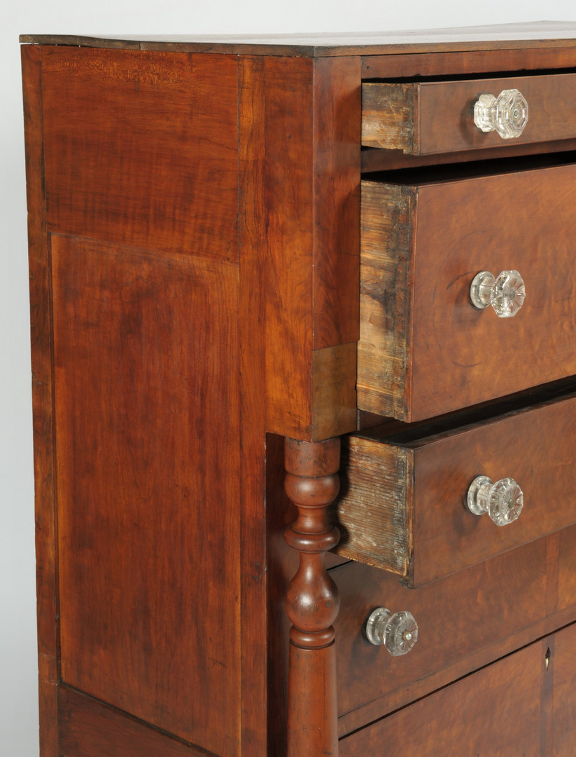 Lot 539: Southern Cherry Chest of drawers, poss. TN