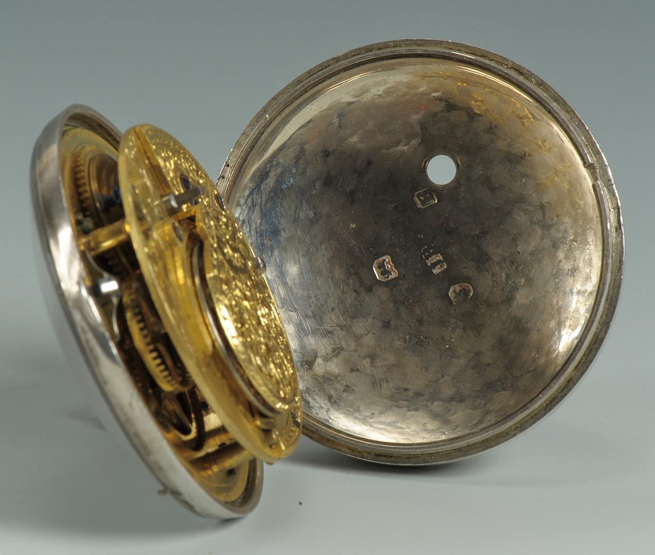 Lot 53: Perrenoud Pocketwatch, Baltimore Retail Label
