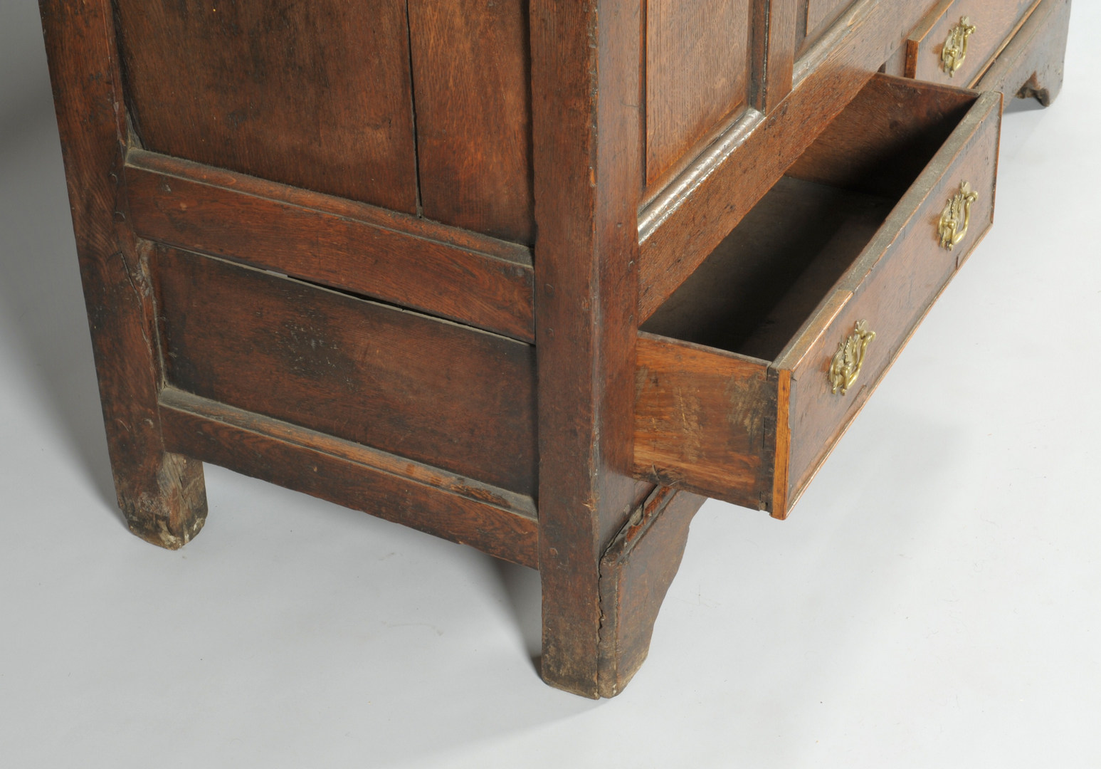 Lot 541: 2 English Oak Coffer Chests or Blanket Chest