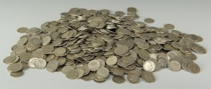 Lot 546: Grouping of U. S. Silver Roosevelt Dimes
