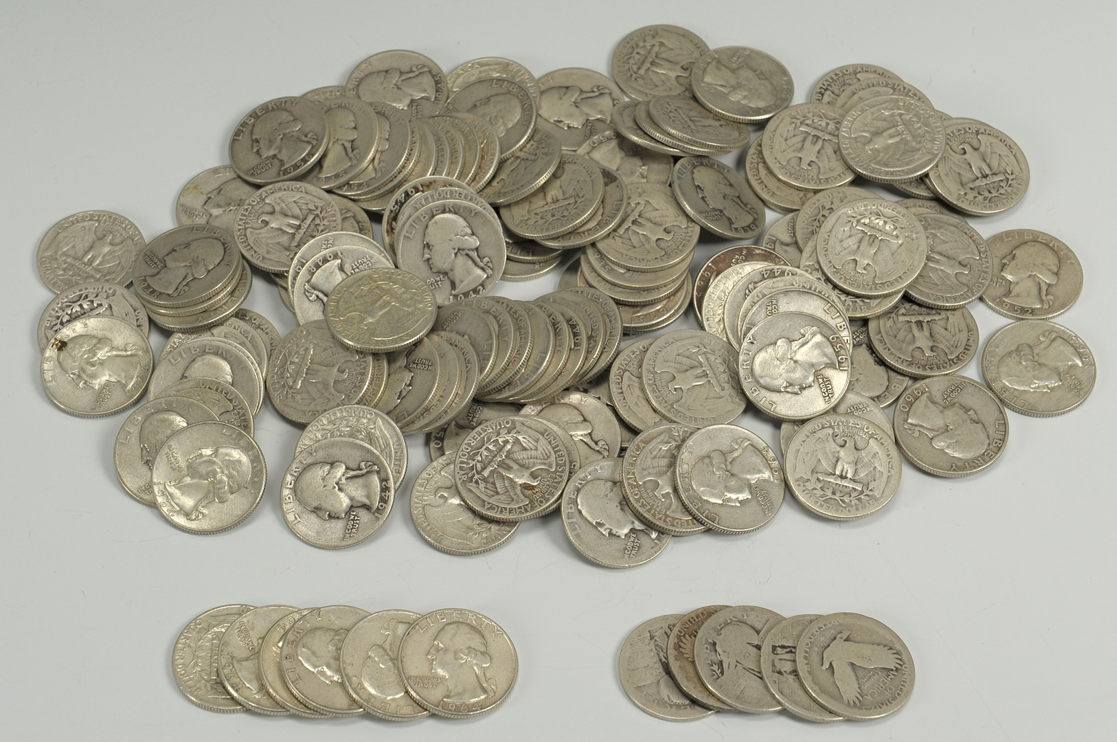 Lot 549: Grouping of U.S. Silver Quarters