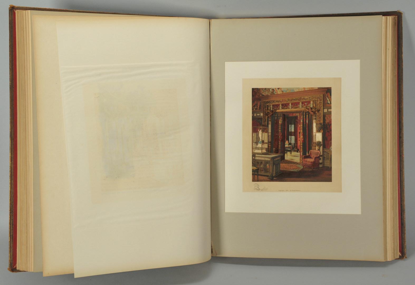 Lot 554: 4 vol. set, Mr. Vanderbilt's House and Collection