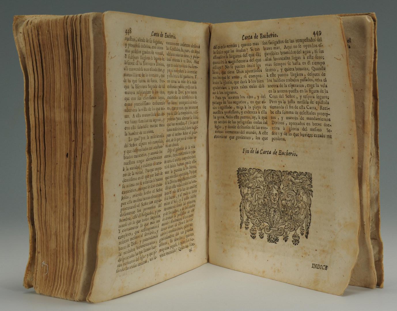 Lot 557: Spanish Book titled La Guia de Pecadores