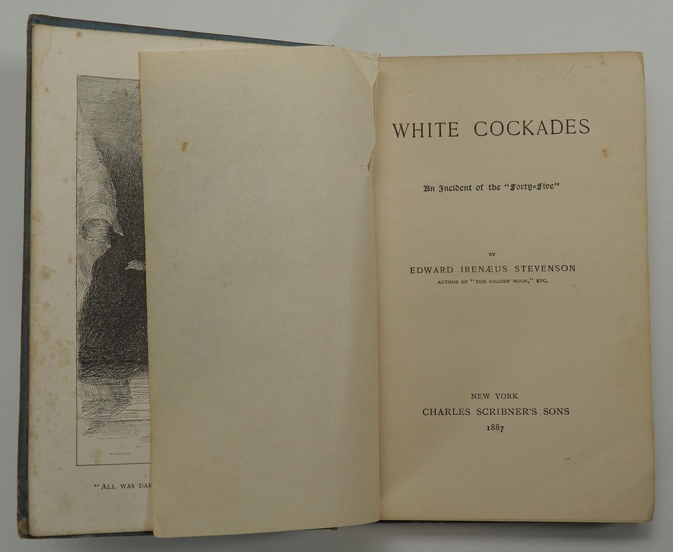 "Lot 558: ""White Cockades"" by Edward Prime-Stevenson"